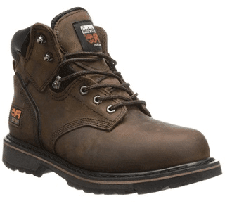 Timberland PRO Men's Pitboss 6″ Steel-Toe Boot
