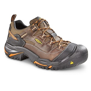 Low Top Mens Steel Toe Shoe