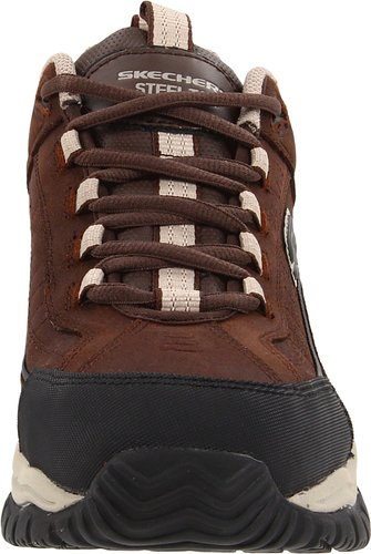 Skechers-For-Work-Men's-Soft-Stride-Lace-Up-Front-View