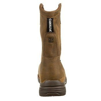 Men's-Carolina-10-inch-Lightweight-Waterproof-Composite-Toe-Wellington-Work-Boots-Brown-View1