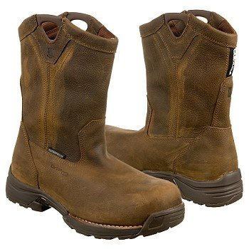 Men's-Carolina-10-inch-Lightweight-Waterproof-Composite-Toe-Wellington-Work-Boots-Brown-View7