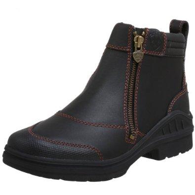 Ariat Women's Barnyard Side Zip Barn Boot-8 - Work Wear