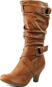 Top Moda Women's Auto-2 Round Toe Dress Boot-4