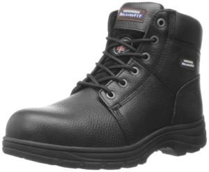 Skechers for Work Men's 77009 Work shire Relaxed Fit Work Boot
