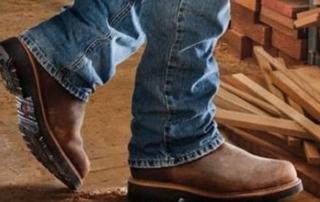 Top Slip on Steel Toe Work Boots