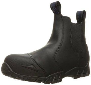 Bates Men's Strike Chelsea Comp Toe Slip-on Safety Toe Boot