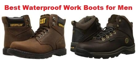 Top 10 Best Waterproof Work Boots for Men in 2017
