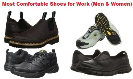 Most Comfortable Work Shoes In 2018 - Guide For Men U0026 Women