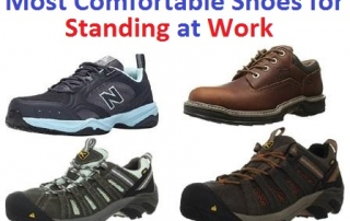Top 30 Most Comfortable Shoes for Standing at Work