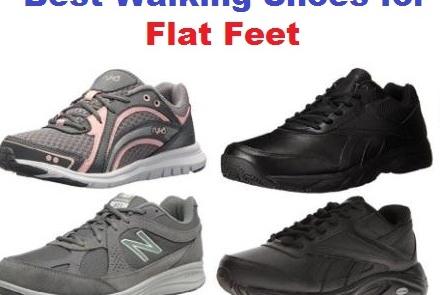 Top 20 Best Walking Shoes for Flat Feet in 2018