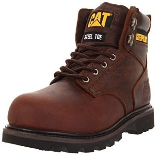 Caterpillar Second Shift Steel Toe work boots are named ambitiously and  justly. These are highly affordable and durable boots with removable  insoles. e406f6296072