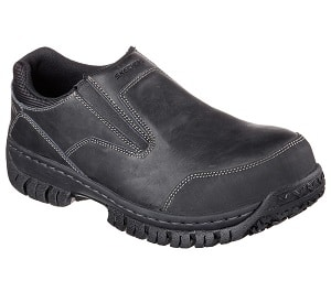 Skechers Work Men S Hartan Steel Toe Slip On Shoe