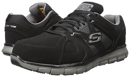 Skechers For Work Men S Synergy Ekron Alloy Toe Work Shoe