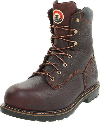 Irish Setter Men's 8 Aluminum Toe Work Boot Side