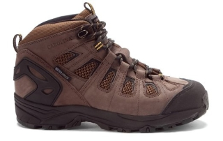 Men's Carolina Waterproof Composite Toe Hikers Side