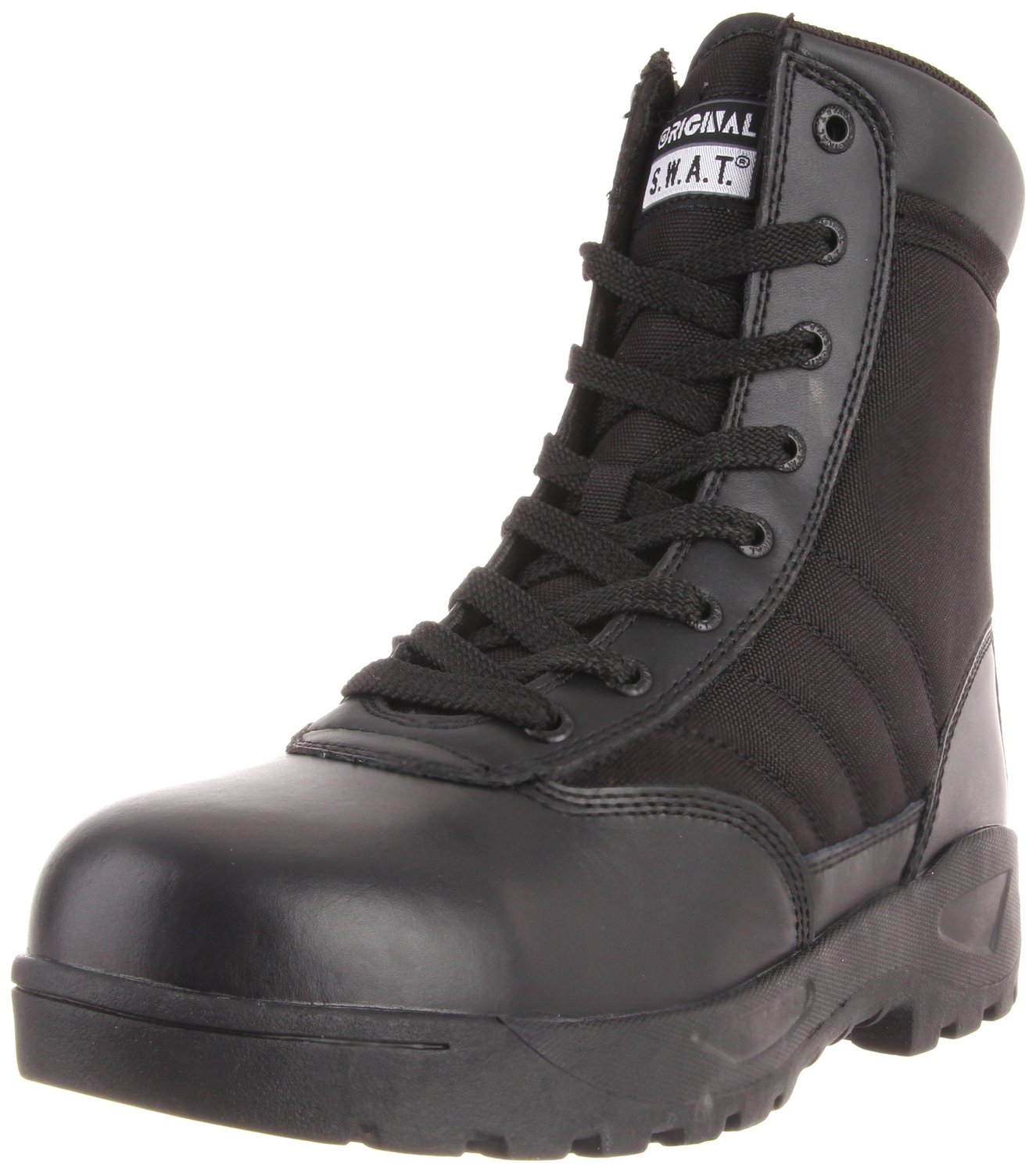 Original S.W.A.T. Men's Classic 9 Light Safety Toe Work Boot Side