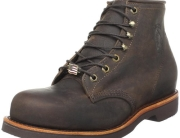 Chippewa Men's Six-Inch Chocolate Apache Steel Toe Lace-Up Boot Review
