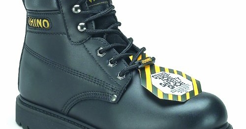 60S21-Rhino-6-Inch-Steel-Toe-Safety-Work-Boot - Black-View1