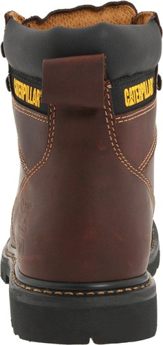 Caterpillar-Men's-2nd-Shift 6-Steel-Toe-Boot-Back-View