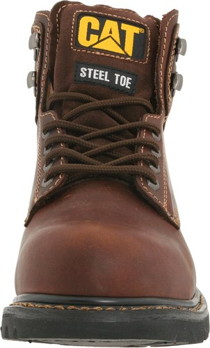 Caterpillar-Men's-2nd-Shift 6-Steel-Toe-Boot-Front-View