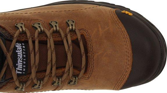 Caterpillar-Men's-Diagnostic-Steel-Toe-Waterproof-Boot-Top-View