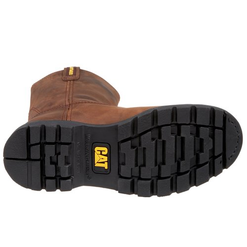 Caterpillar-Men's-Revolver-Pull-On-Steel-Toe-Boot-Sole-View