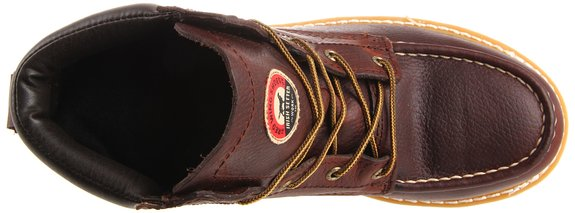Irish-Setter-Men's-6-Aluminum-Toe-Work-Boot-Top-View