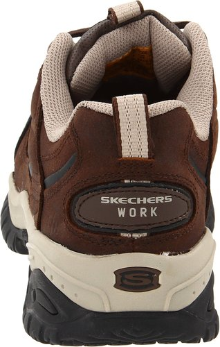 Skechers-For-Work-Men's-Soft-Stride-Lace-Up-Back-View