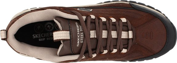Skechers-For-Work-Men's-Soft-Stride-Lace-Up-Top-View