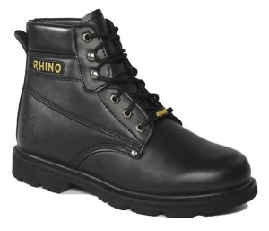 60S21 Rhino 6 Inch Steel Toe Safety Work Boot