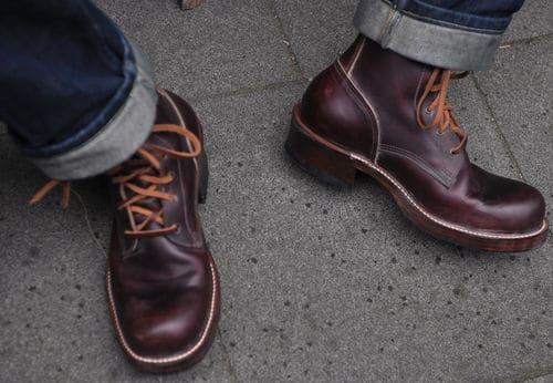 Custom Work Boots