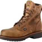 J-Max Men's Steel Toe Electric Shock Proof Work Boots