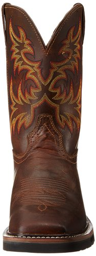Justin-Original-Work-Boots-Men's-Stampede-Pull-On-Square-Toe-Work-Boot-View1