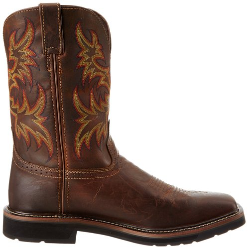 Justin-Original-Work-Boots-Men's-Stampede-Pull-On-Square-Toe-Work-Boot-View3