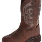 Justin Women's Gypsy Waterproof Work Boot Round Steel Toe Review