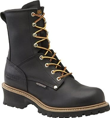 Men's-Carolina®-8-Steel-Toe-Loggers-Boot-View