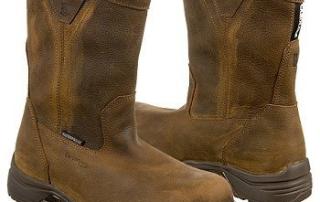 Men's-Carolina-10-inch-Lightweight-Waterproof-Composite-Toe-Wellington-Work-Boots-Brown-View7