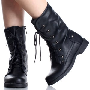 Are There Black Work Boots For Women Work Wear