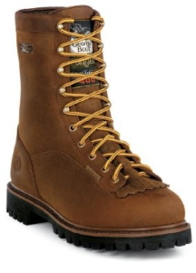Georgia Men's Insulated Waterproof Logger Boots 8
