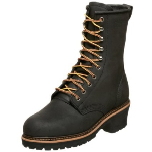 Golden Retriever Men's Steel Toe Work Boot 9