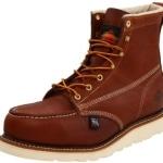 "Thorogood Men's Heritage American 6"" Steel Toe Work Boot"