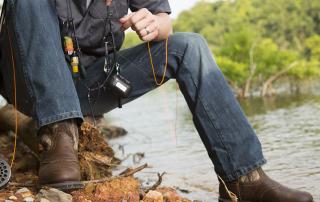 Waterproof work shoes for men