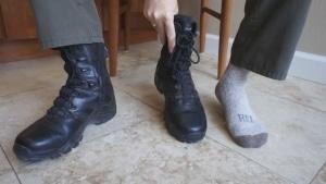 Break in New Work Boots