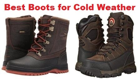 The Top 10 Best Boots for Cold Weather in 2017