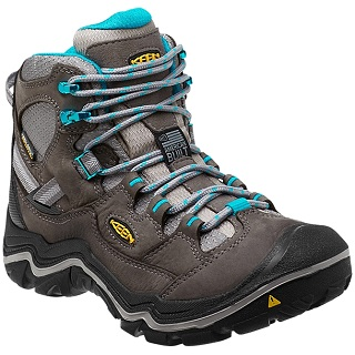 5f2b8b2e46 Keen has another excellent option for women who would like to take it all  out on the most difficult terrain. The Durand Mid Waterproof Hiking Boot is  a ...