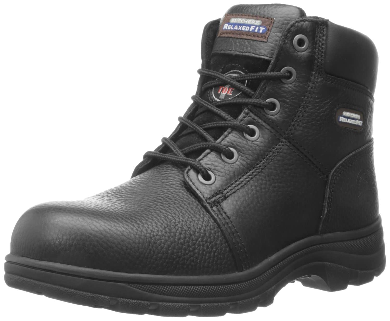 Skechers For Work Men S 77009 Work Shire Relaxed Fit Work