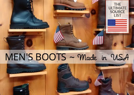 Work Boots Made in USA