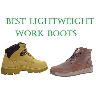 ed0a2c0bddf Top 10 Best Lightweight Work Boots in 2019 - Complete Guide