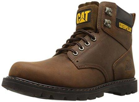 Dedicated Leather Safety Work Boots Lightweight Comfort Steel Toe Womens Caterpillar Tan Clothing, Shoes & Accessories