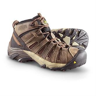 4895e002aa KEEN Utility Men's Flint Mid Work Boot - Work Wear